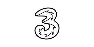 Logo for Three
